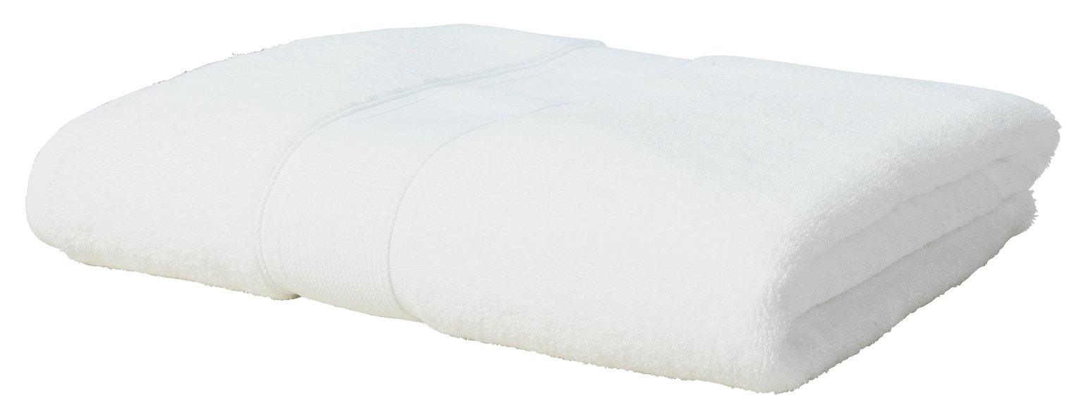 Argos Home Super Soft Bath Sheet - White