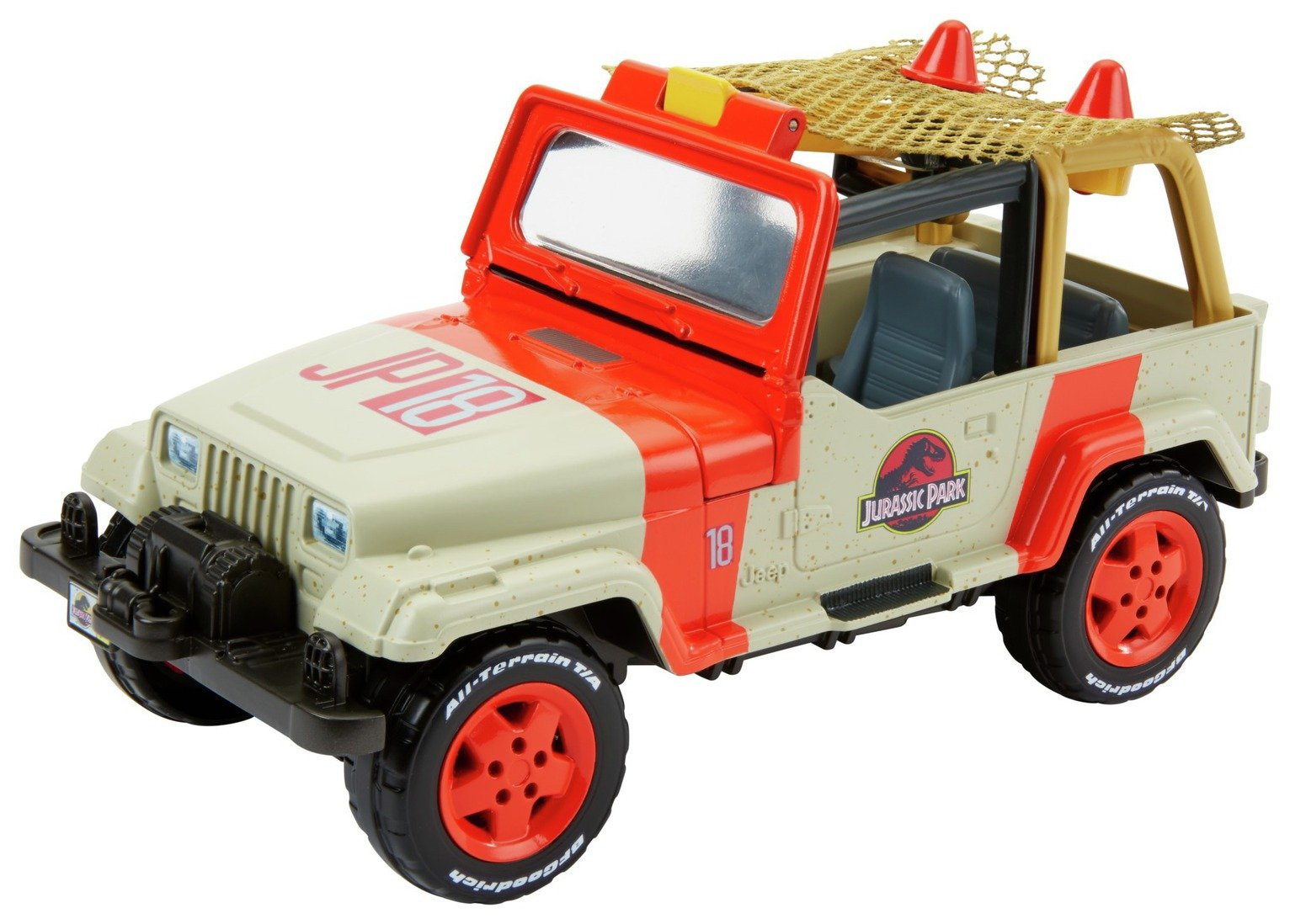 Jurassic World Jeep with Net Launcher