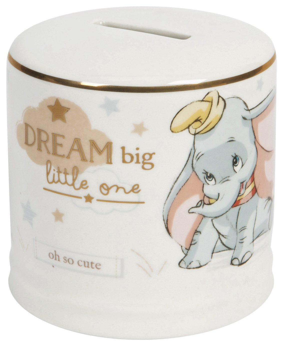 Disney Magical Moments Ceramic Dumbo Money Box
