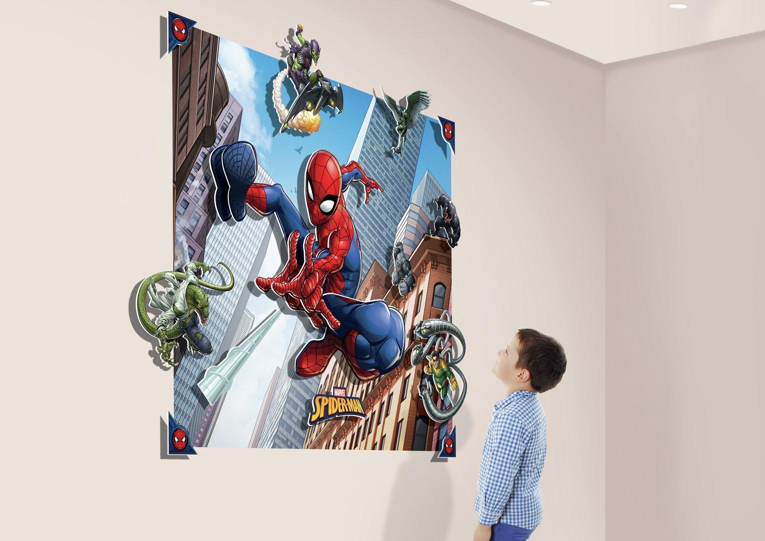 Walltastic 3D Spider-Man Wall Mural
