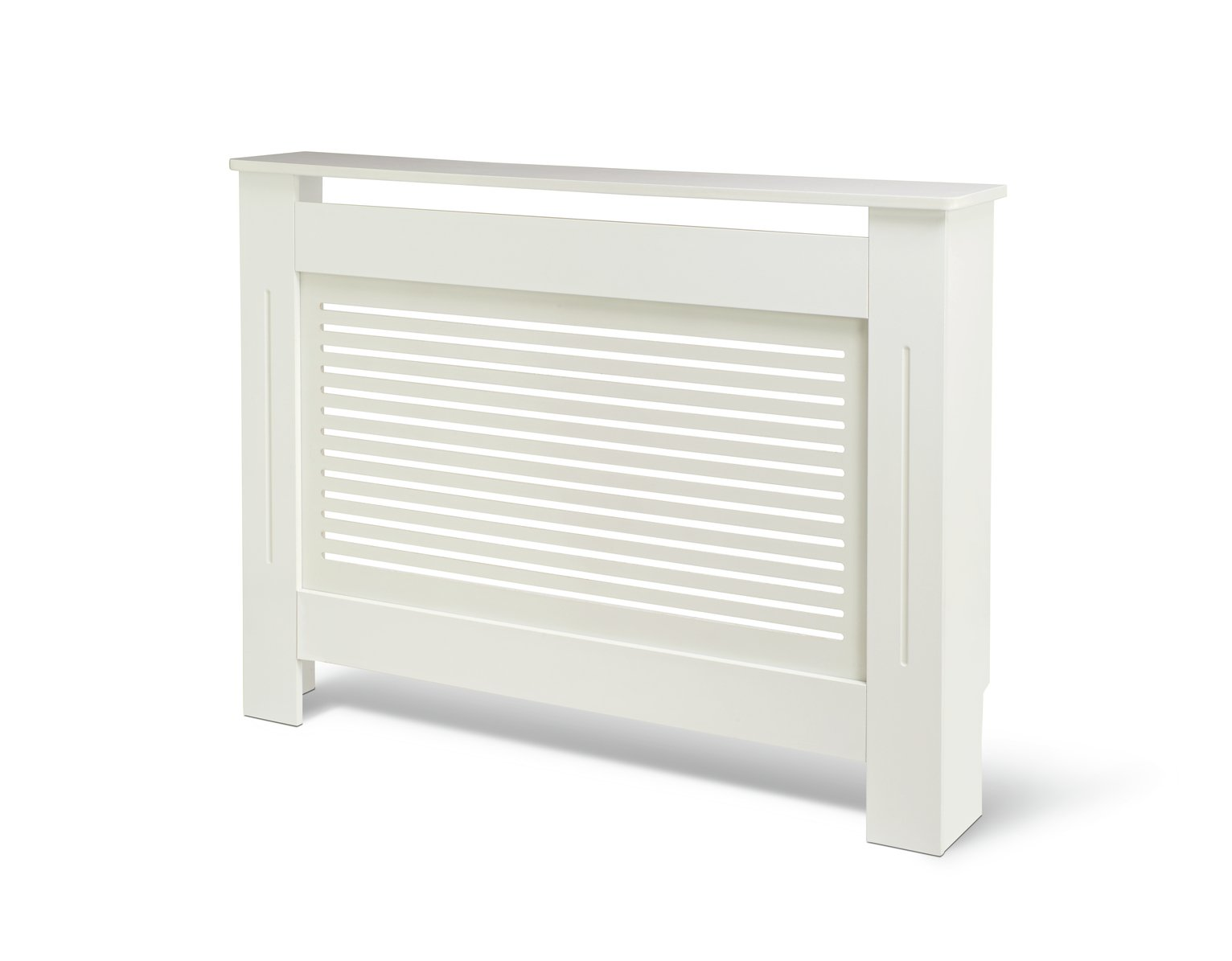 Habitat Austin Small Radiator Cover - White