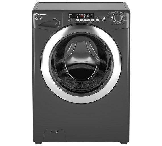 Buy Candy Gvsw496dcar 9kg 6kg 1400 Spin Washer Dryer Graphite
