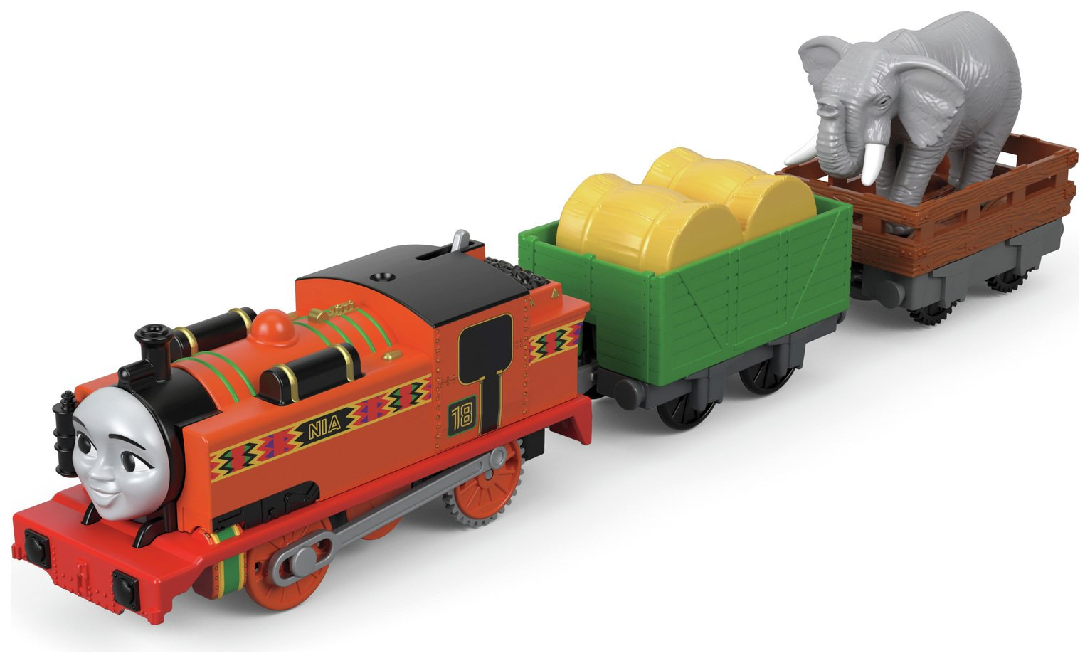 Fisher-Price Thomas & Friends TrackMaster Nia & The Elephant