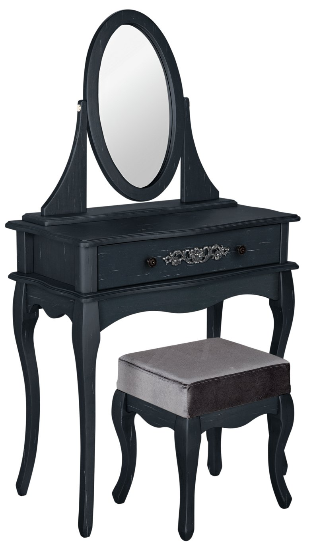 Argos Home Sophia Dressing Table, Stool and Mirror