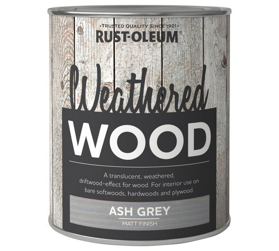 Rust Oleum Weathered Wood Paint 750ml