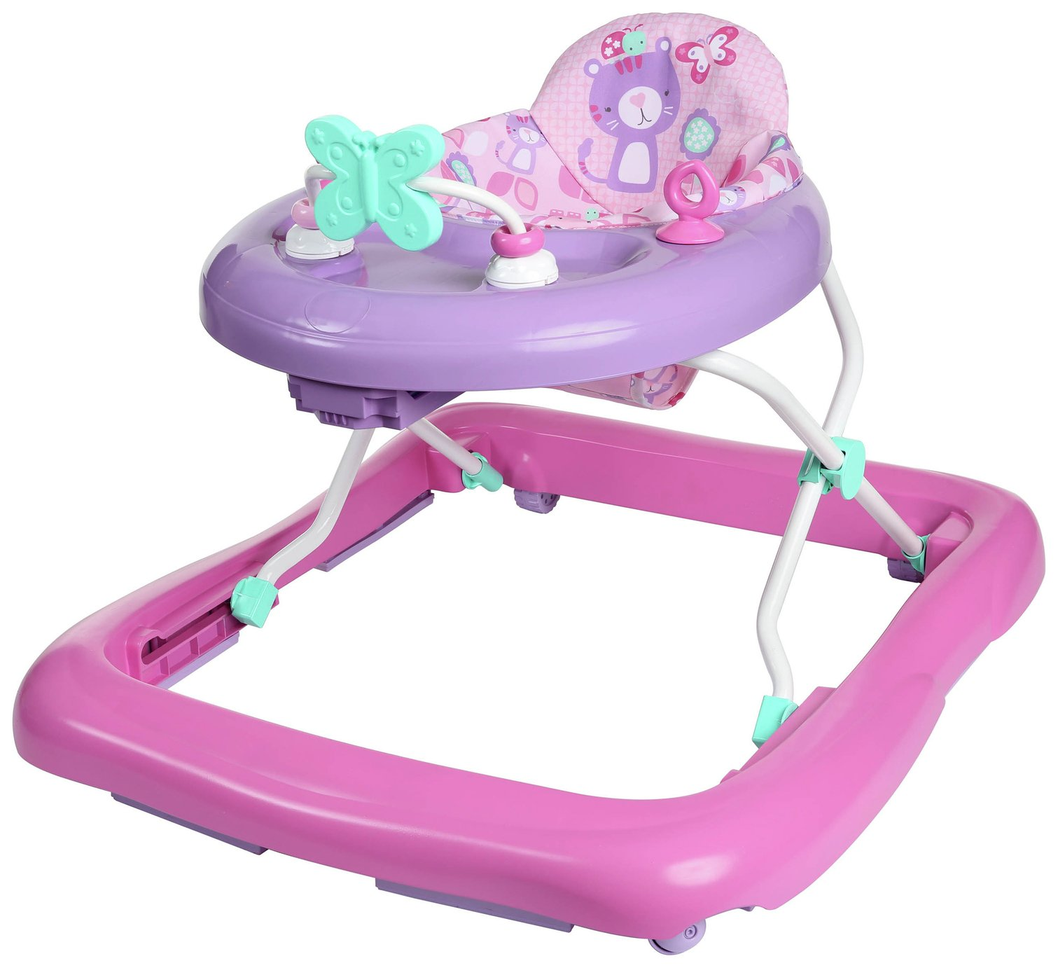 Chad Valley Baby Walker - Pink
