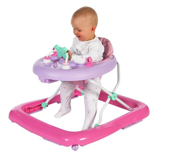 Chad Valley Baby Walker Height Adjustable So That Their