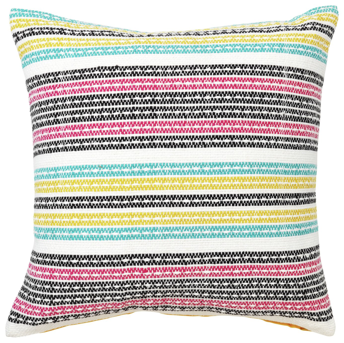 Sainsbury's Home Woven Multi Stripe Cushion