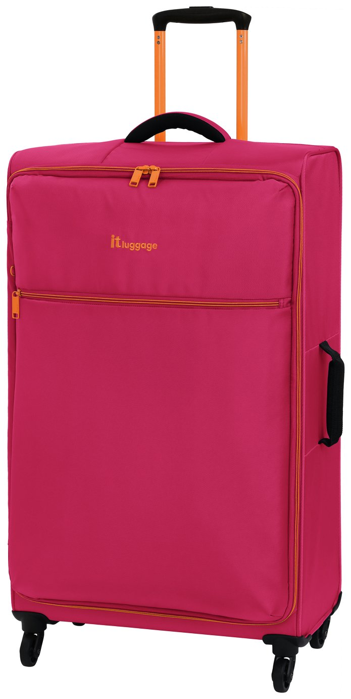 it Luggage The LITE Large 4 Wheel Soft Suitcase - Pink