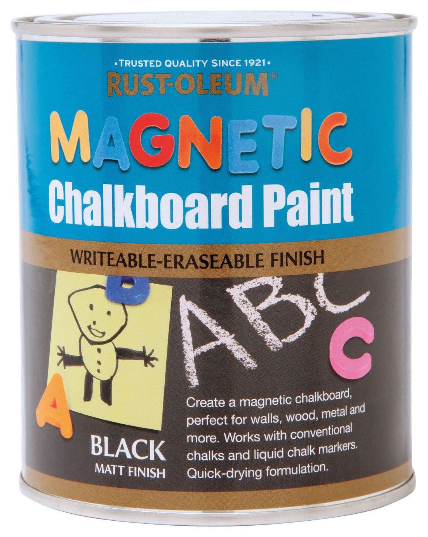 Rust-Oleum Magnetic Chalkboard Paint 750ml