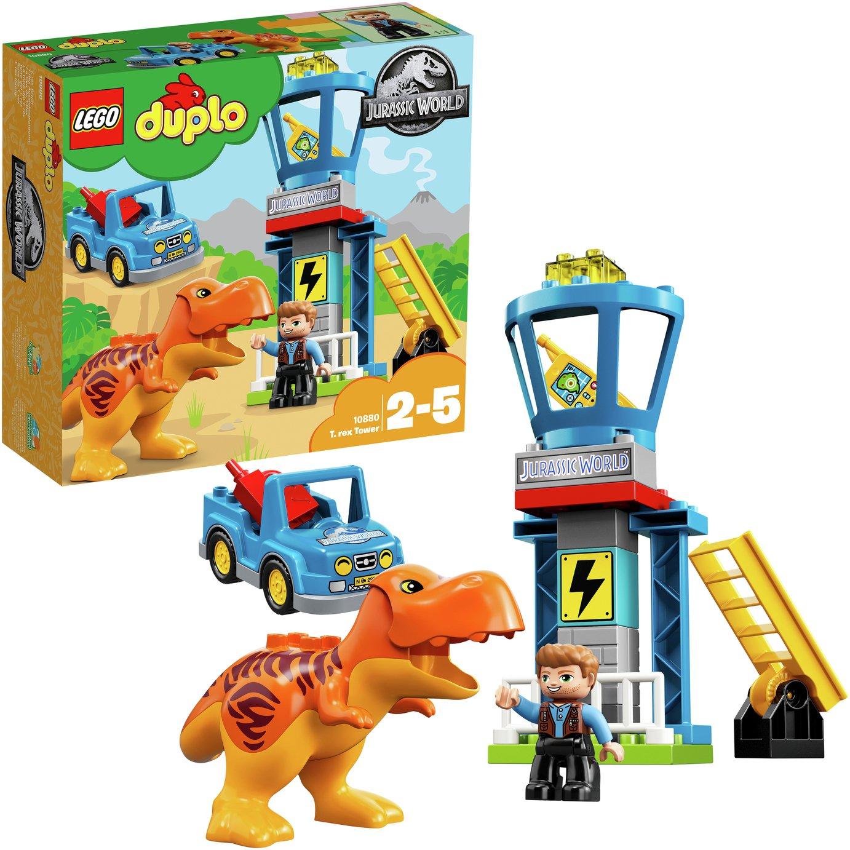 LEGO DUPLO Jurassic World T-Rex Dinosaur Tower - 10880