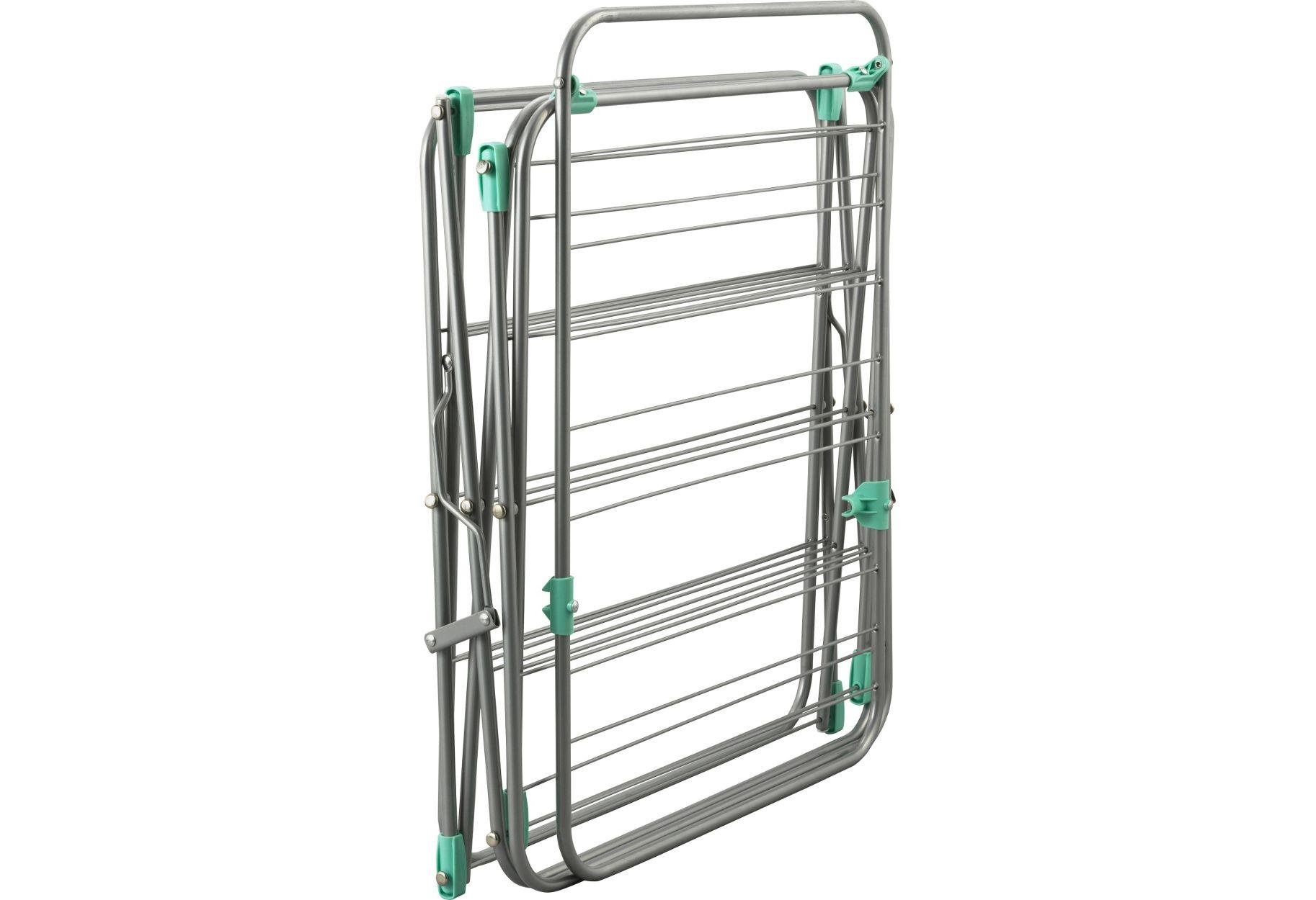 Buy Argos Home Flat Dry Easy Load 20m 3 Tier Clothes Airer Washing
