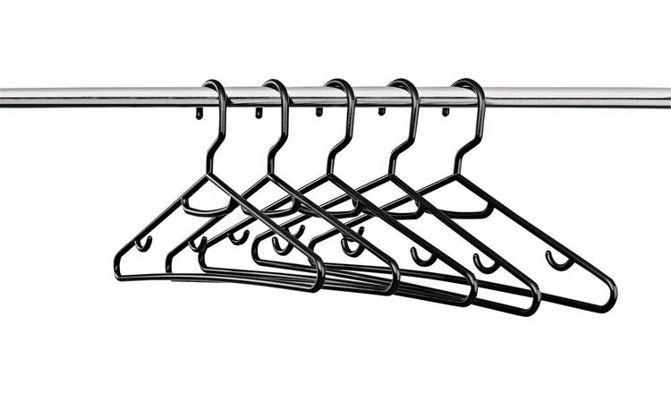 Argos Home Set of 30 Plastic Hangers