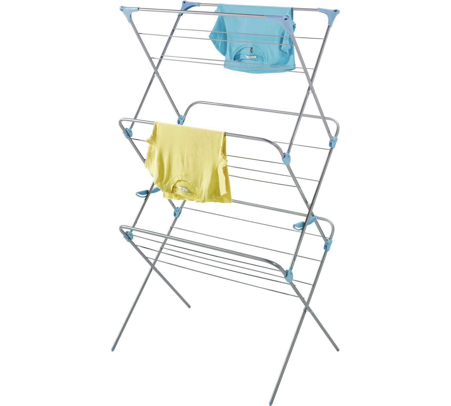 sale on minky wide dry trio 20m indoor clothes airer. Black Bedroom Furniture Sets. Home Design Ideas