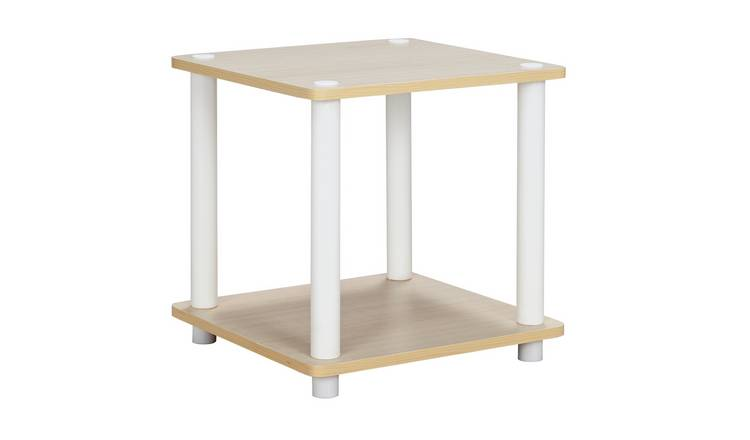 Argos Home New Verona Side Table - Light Wood Effect