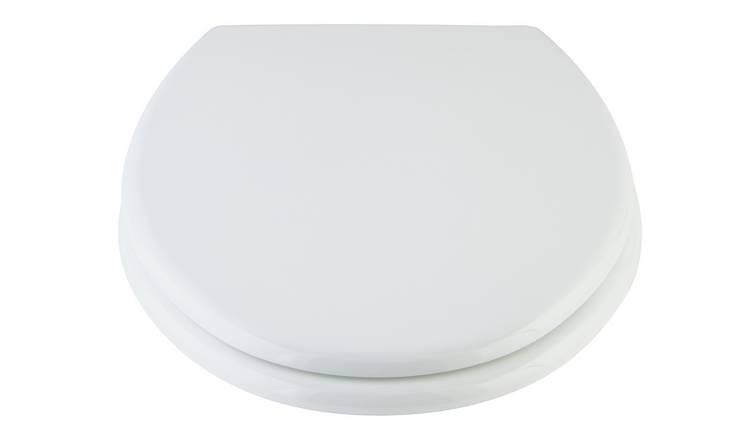 Buy Argos Home Moulded Wood Toilet Seat White Toilet