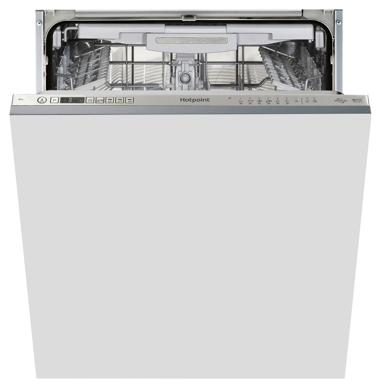 Hotpoint HIO3P23WLE Full Size Integrated Dishwasher - S/ St