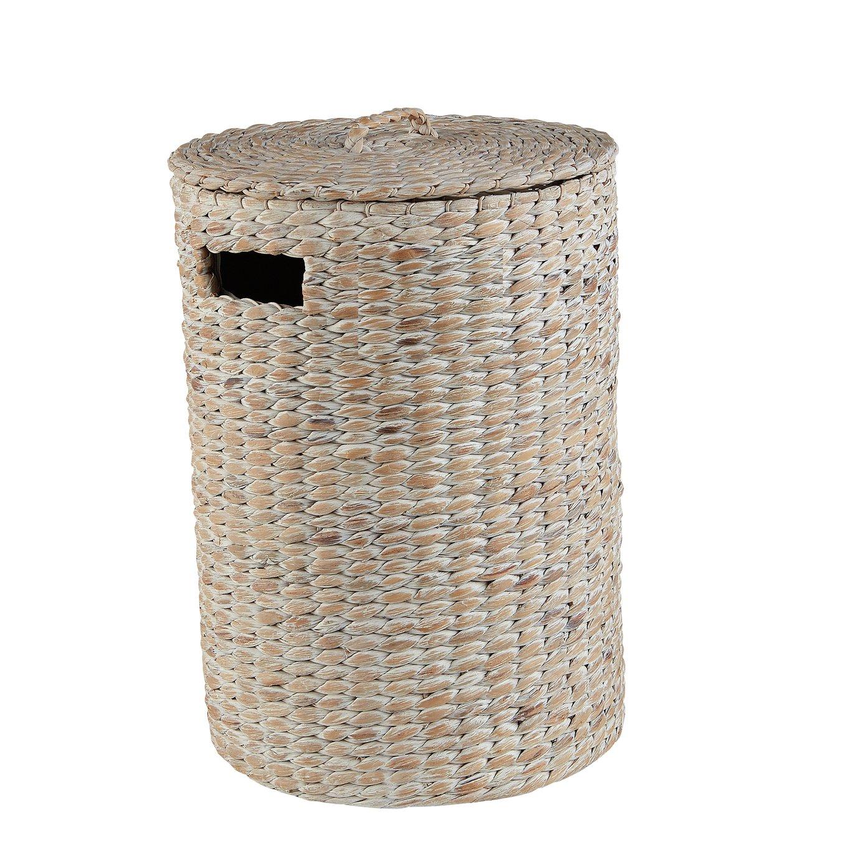 Sainsbury's Home Water Hyacinth Lidded Basket
