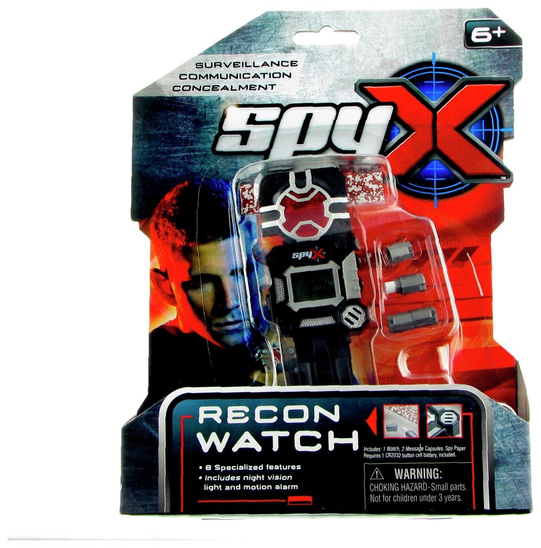 SpyX 8 in 1 Recon Spy Watch