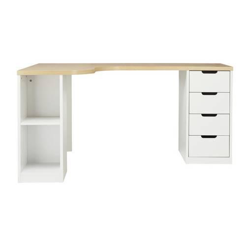 Buy Argos Home Large Corner Desk - Two Tone | Desks | Argos