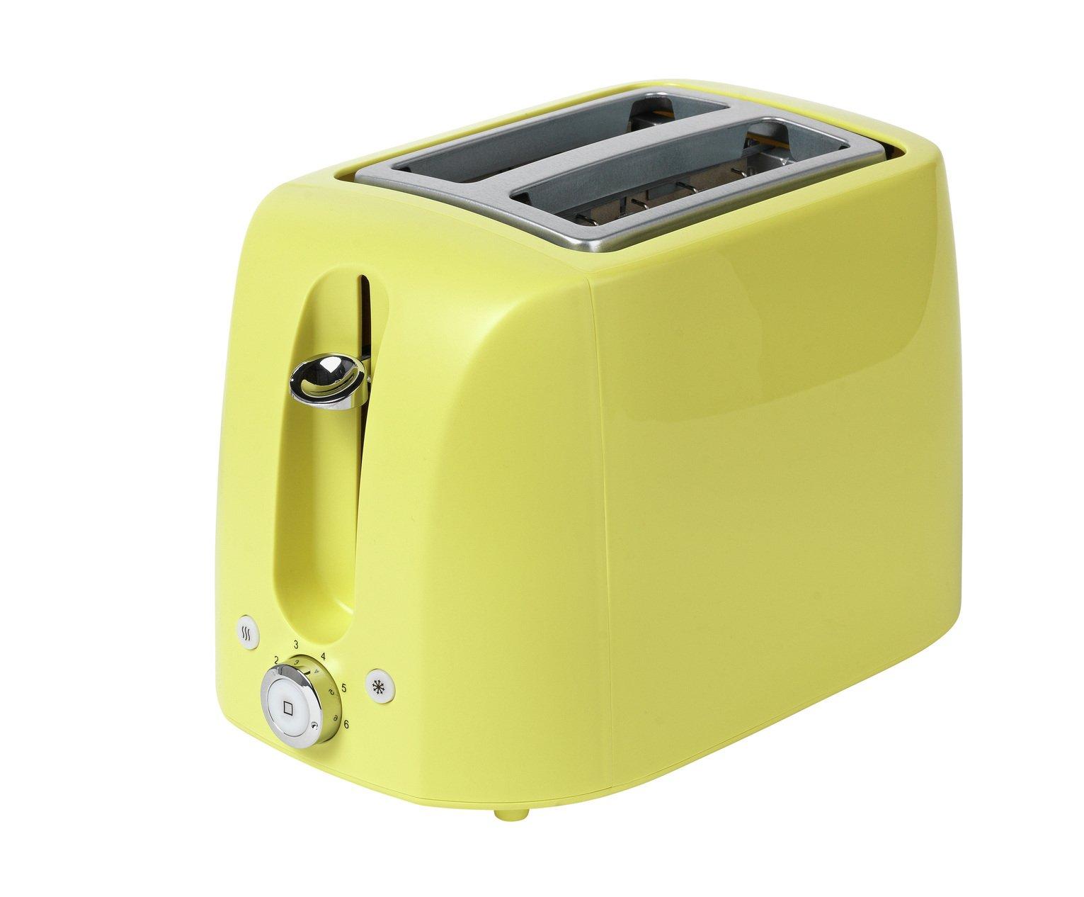 Cookworks 2 Slice Toaster - Green
