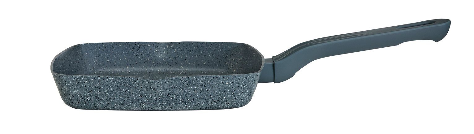Sainsbury's Home 24cm Stone Effect Grill Pan