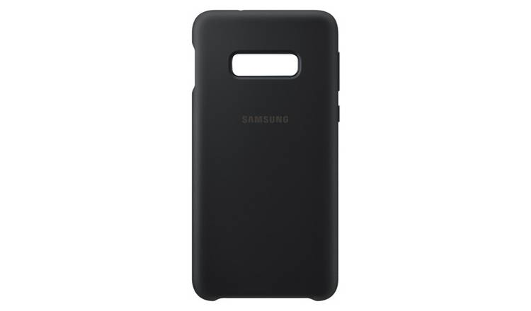Samsung Original S10e Silicone Phone Cover - Black