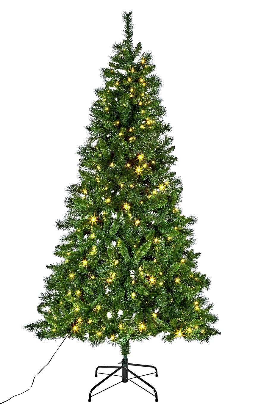purchase cheap b4716 0fde3 The best pre lit Christmas trees from Argos, Asda, John ...