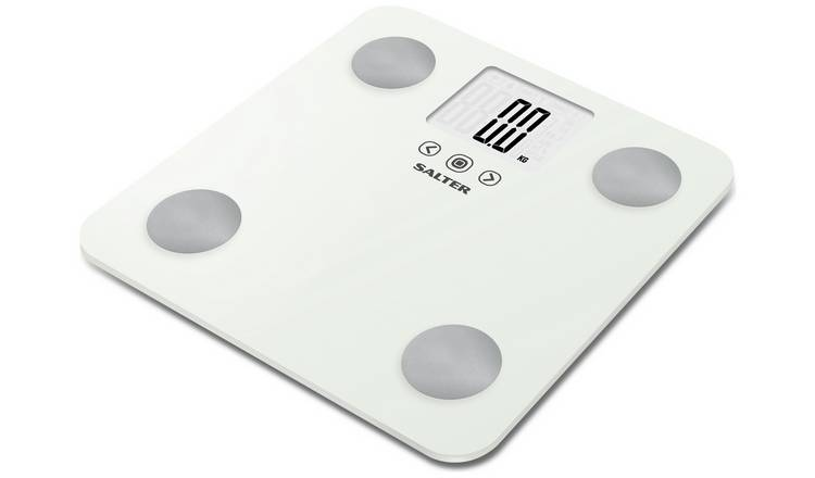 Salter Max Body Analyser Scale - White
