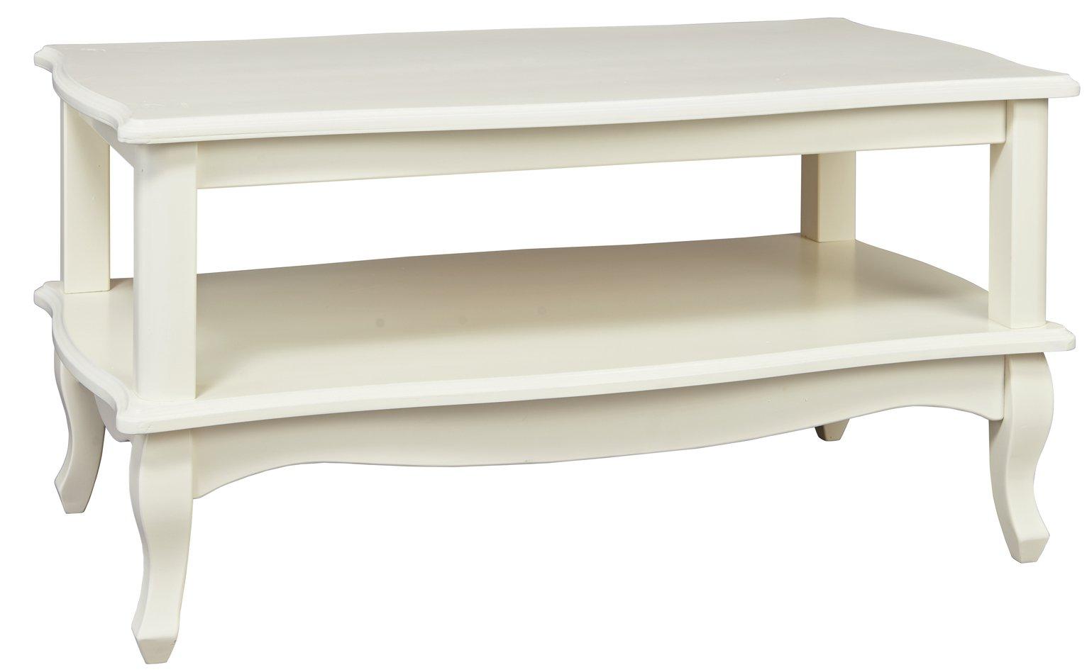 Argos Home Serenity Coffee Table - Off-White