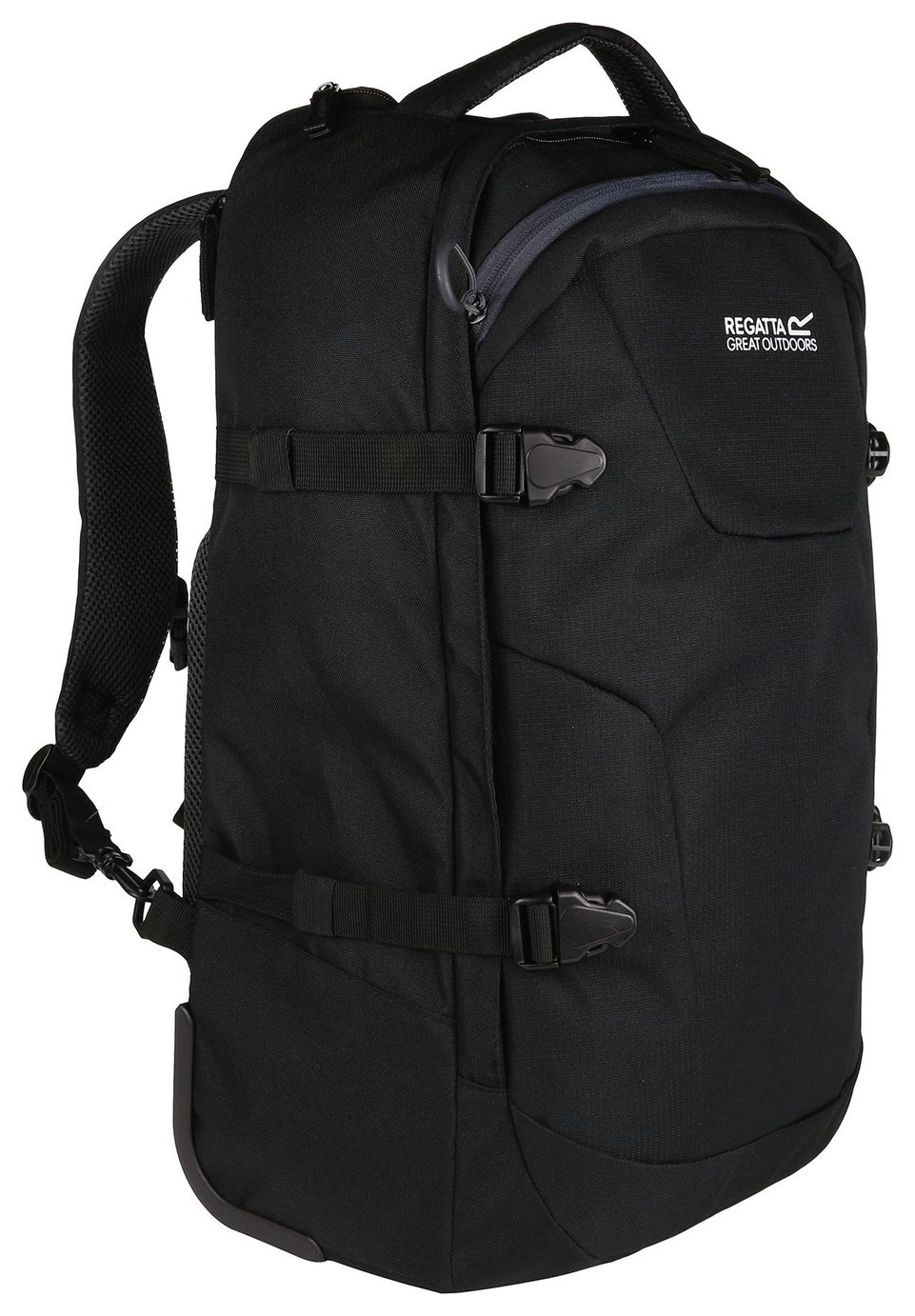 Regatta Paladen 35L Wheeled Holdall Backpack - Black