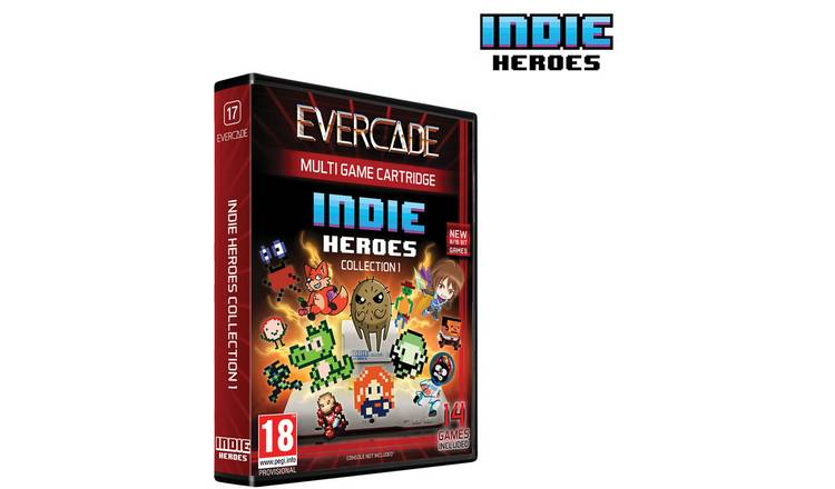 Evercade Cartridge 17: Indie Heroes Collection 1 Pre-Order