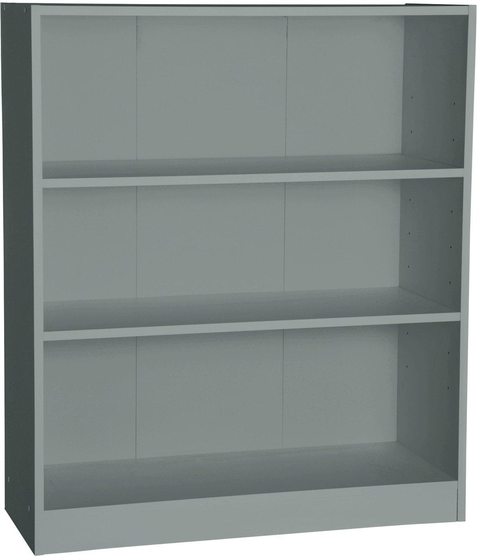 Habitat Maine 2 Shelf Small Bookcase - Grey