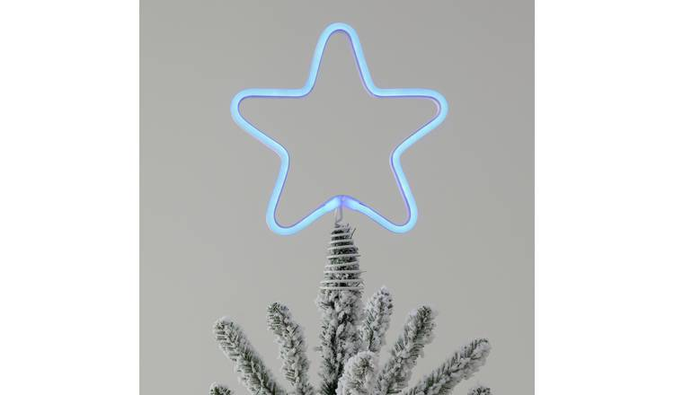 Argos Home Christmas Rhapsody Light Up Star Tree Topper