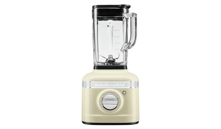 KitchenAid Artisan K400 Glass Jar Blender - Almond Cream