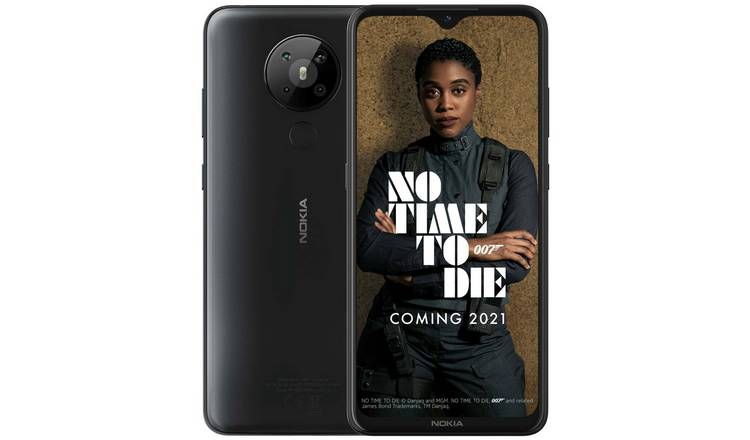 SIM Free Nokia 5.3 64GB Mobile Phone - Charcoal