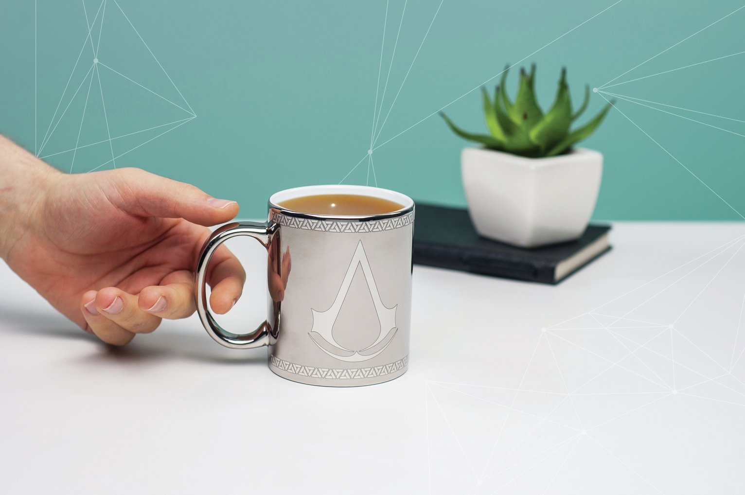Image of Assassin's Creed Chrome Mug