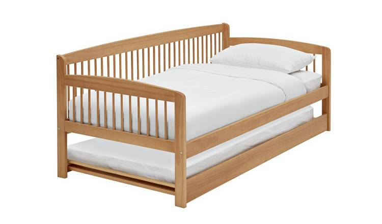Argos Home Andover Wooden Day Bed with Trundle - Pine