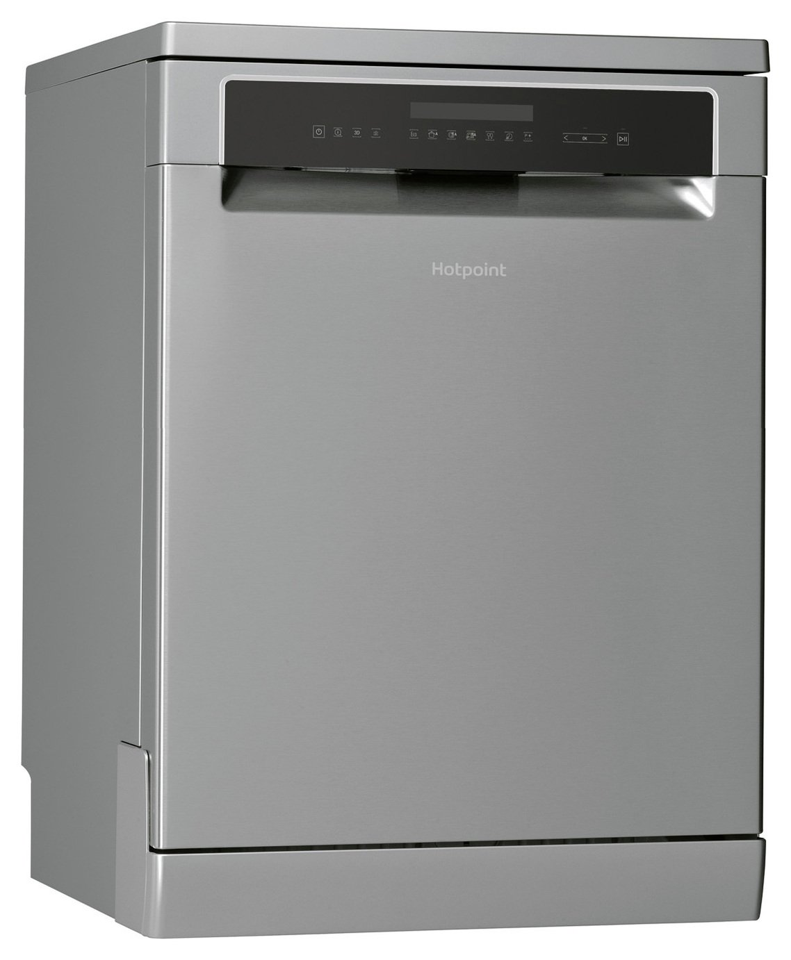 Hotpoint HFP4O22WGCX Full Size Dishwasher - Stainless Steel