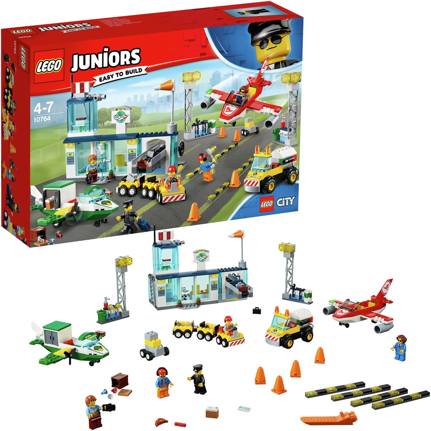 LEGO Juniors City Central Airport - 10764