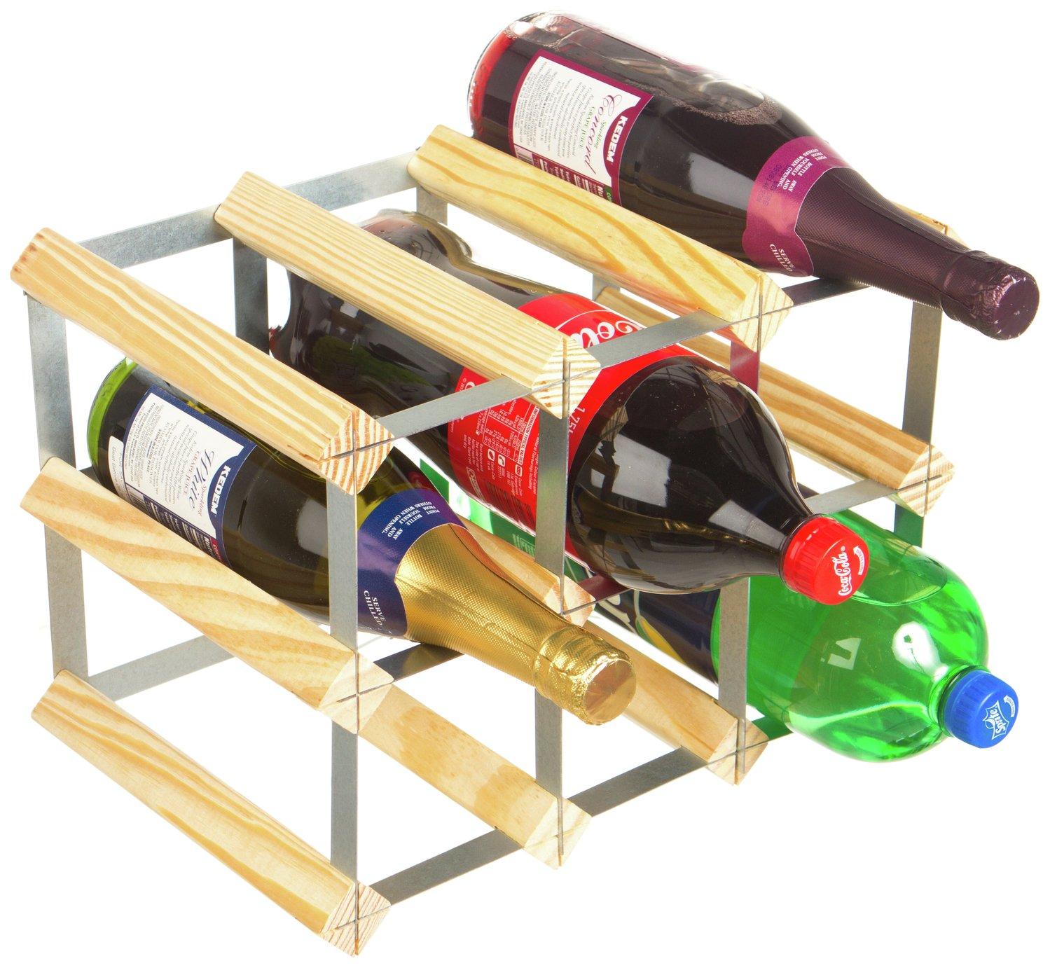 RTA 9 Bottle Flexi Bottle Store/Wine Rack.