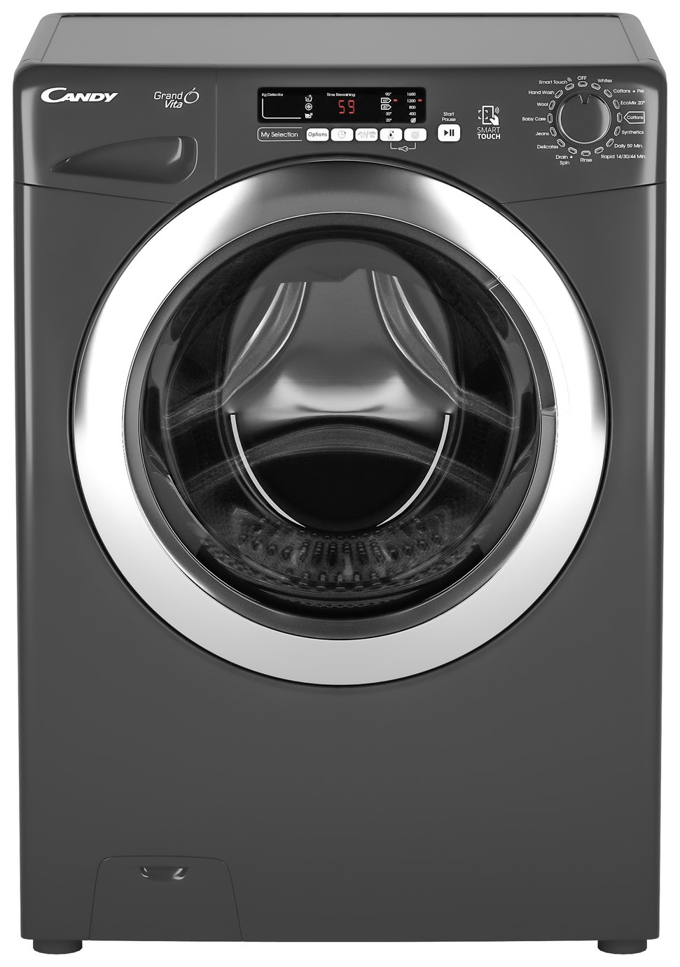 Candy GVS1410DC3R 10KG 1400 Spin Washing Machine - Graphite