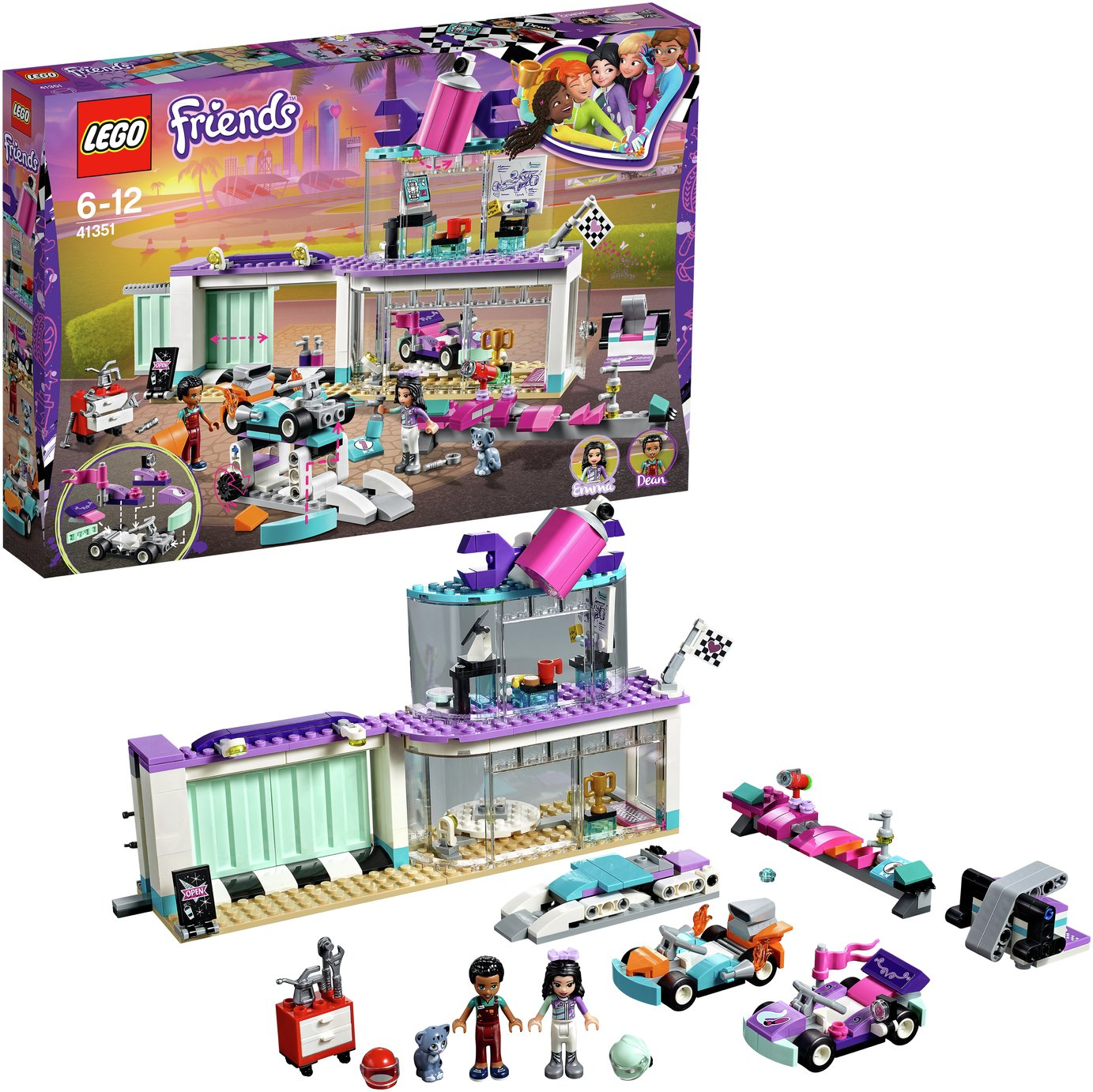 LEGO Friends Heartlake Creative Tuning Shop Playset - 41351