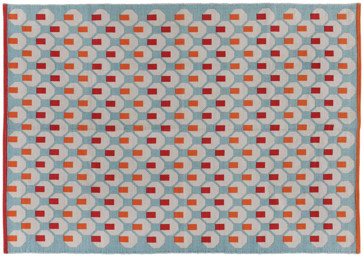 Habitat Octo Rug - 140x200cm - Multicoloured