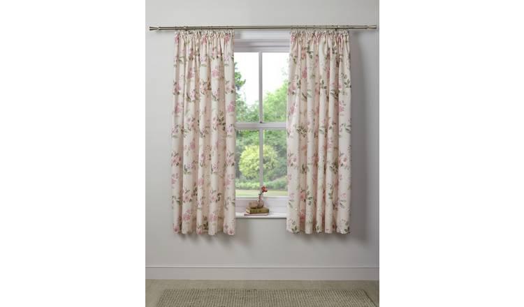 Buy Dreams Drapes Lorena Blackout Curtains 168x183cm Blush Curtains Argos