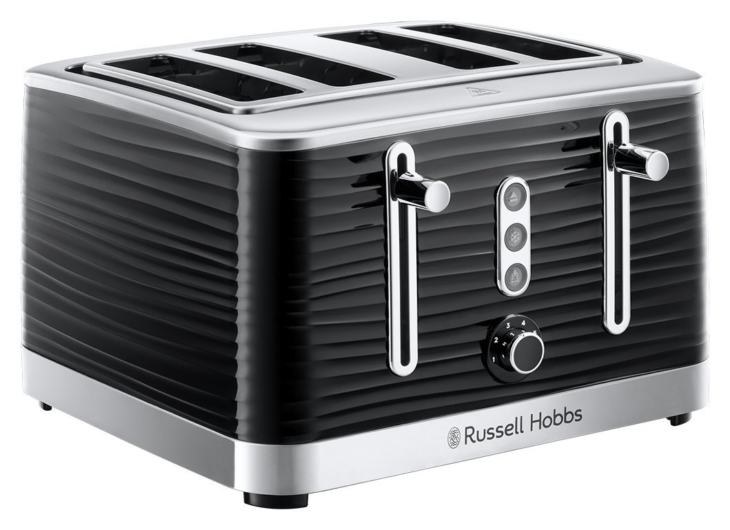 Russell Hobbs 24381 Inspire 4 Slice Toaster – Black