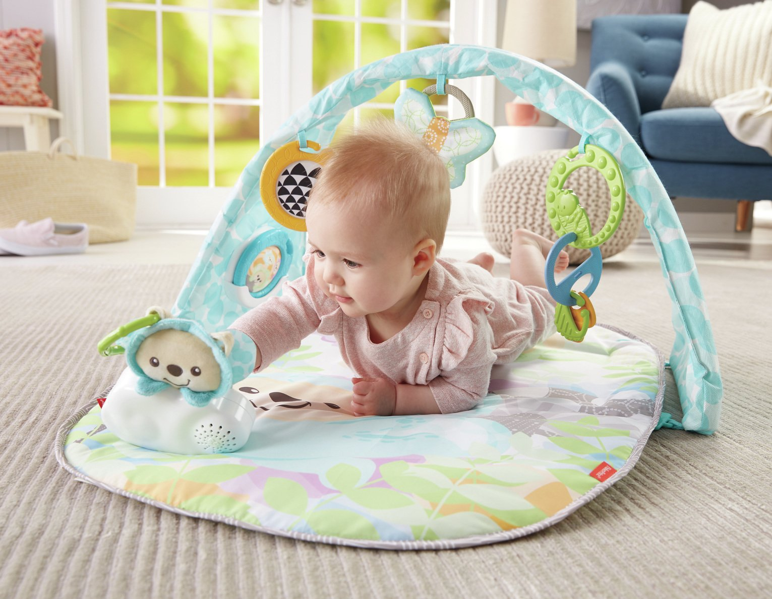Fisher-Price Butterfly Dreams Musical Playtime Gym