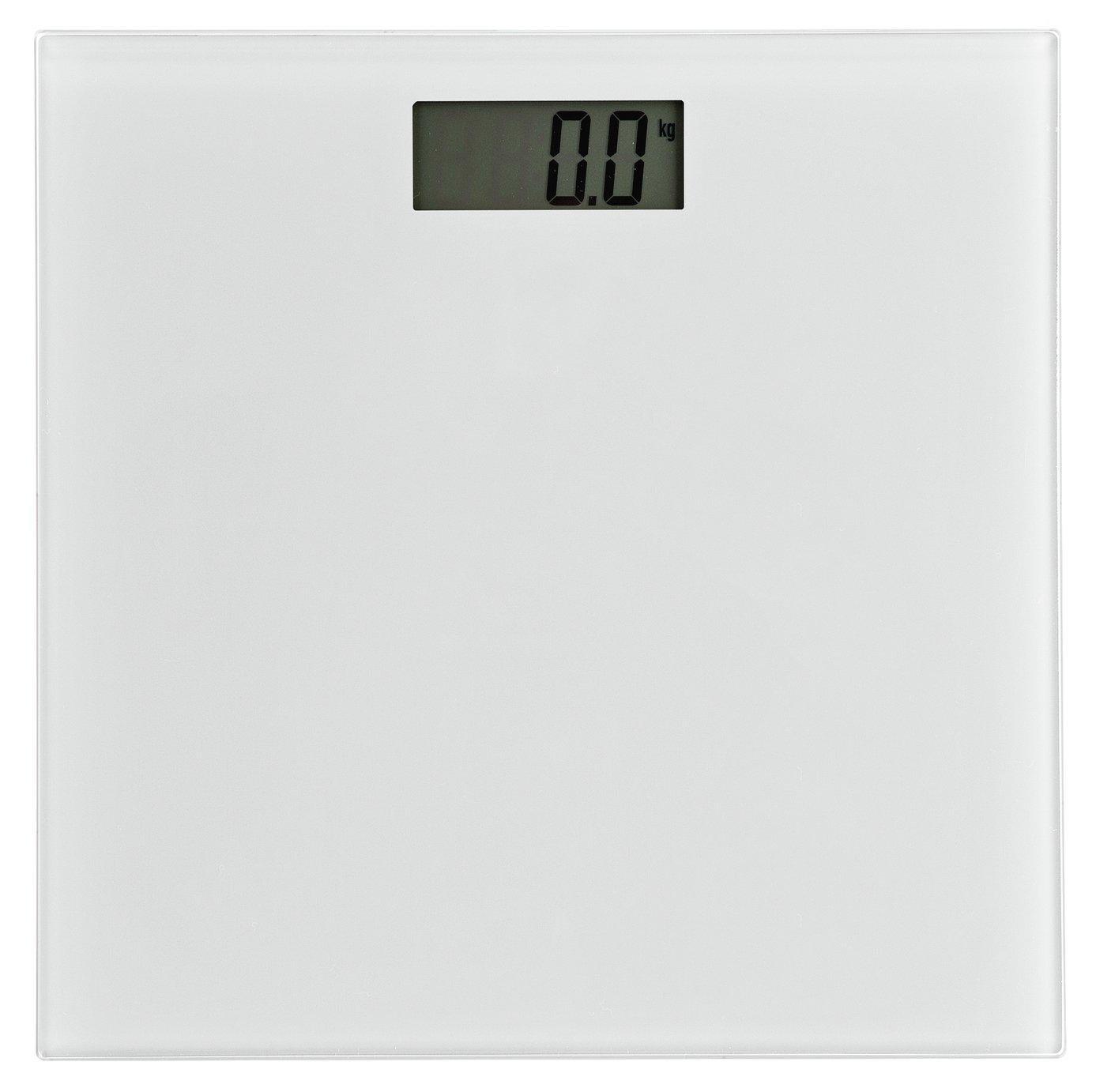Argos Home Electronic Bathroom Scales - White