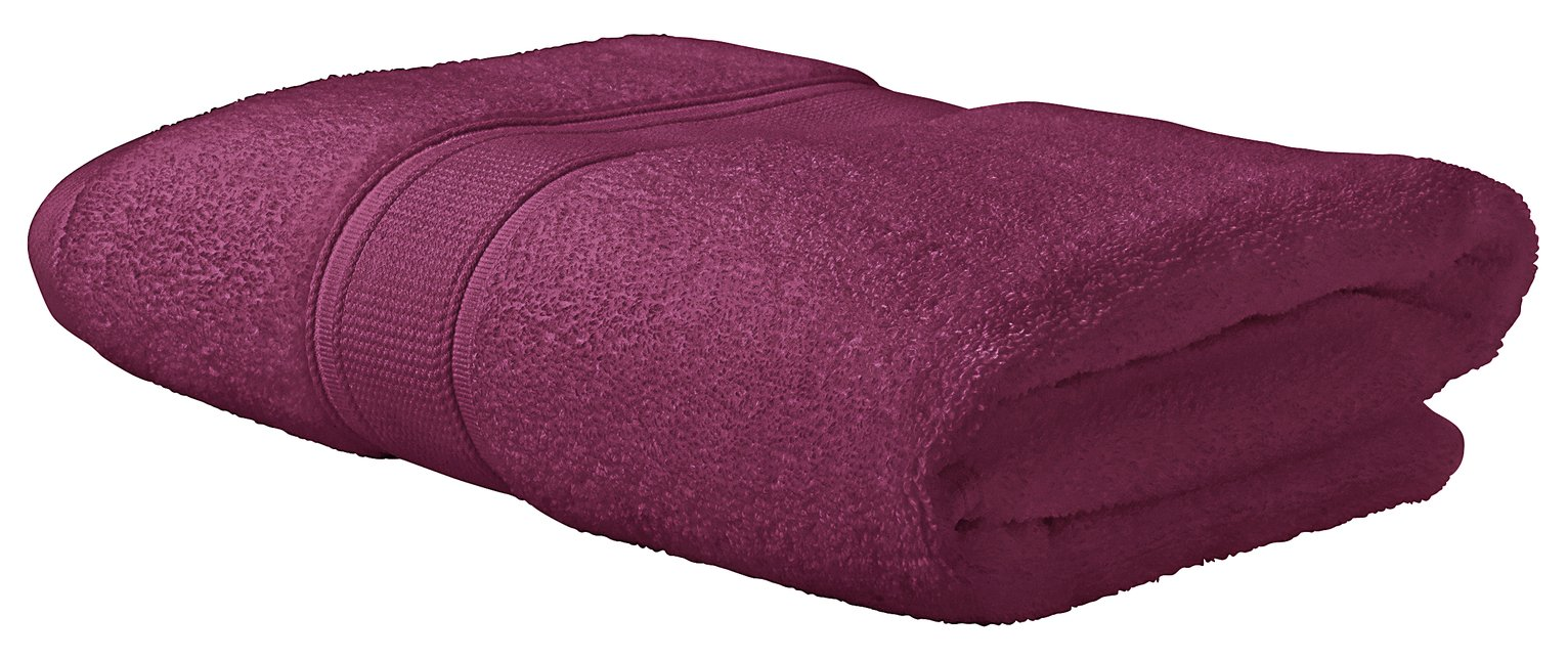 Argos Home Super Soft Bath Towel - Raspberry