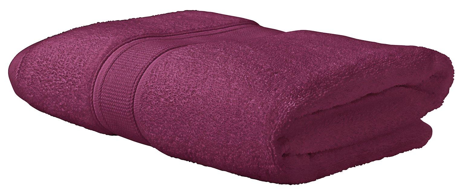 Argos Home Super Soft Bath Towel - Raspberry